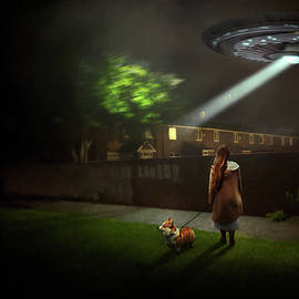 Fantasy - UFO - They came for the pickles by Mike Savad