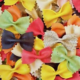 Farfalle pasta eight flavours. by Joe Vella