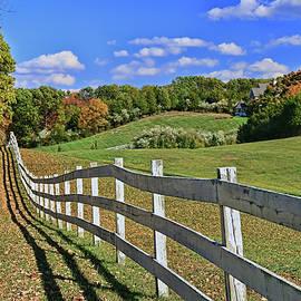 Farm Fence by Allen Beatty