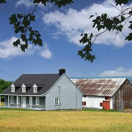 Farm, Ile d'Orleans, Quebec Canada 2013 by Michael Chiabaudo