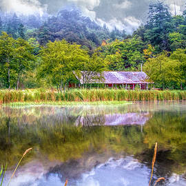 Farm on the Edge of the Lake by Debra and Dave Vanderlaan