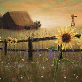 Farm Sunrise by Ken Figurski