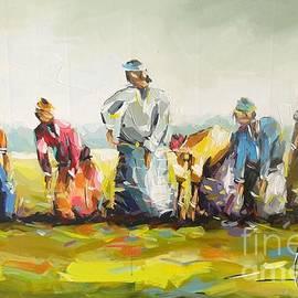 Farm Workers by Allen Kupeta
