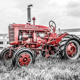 Farmall A Selective Red by Enzwell Designs