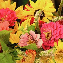Farmer's Market Flowers by Robert Tubesing