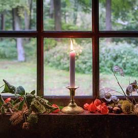 Farmhouse Candle by Dave Bowman