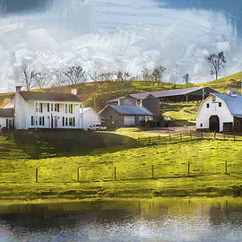 Farmstead By The Water by Jim Love