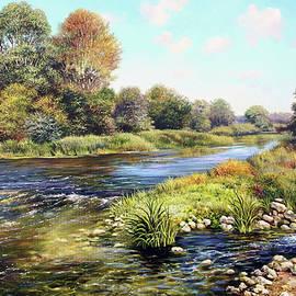 Fast River by Serhiy Kapran