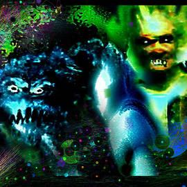 Fear Demons by Hartmut Jager