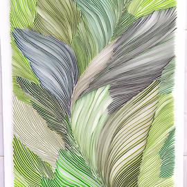 Feather Pattern by Priyanka Sagar