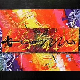 Feelings scratching colors by Daniel Ghioldi