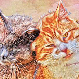Feline Christmas by Mariecor Agravante