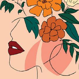 Female abstract by Bernadette Wasike