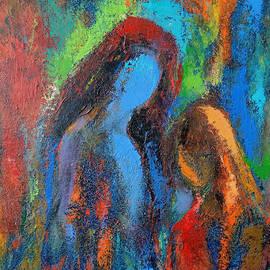 Female figures by Kamsar Ohanyan