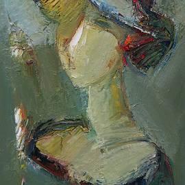 Female portrait by Mateos Sargsyan