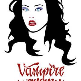 Female Vampire, Vampire Girl, Vampire Lady, Vampire Bite, Vampire Queen, Vampire Princess by Mounir Khalfouf
