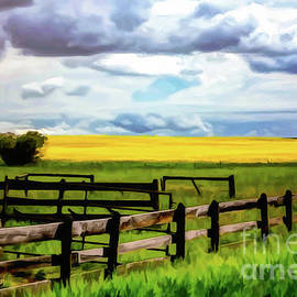 Fenced on the Prairie				 by Bob Lentz