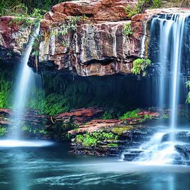 Fern Pool Falls by Jan Fijolek