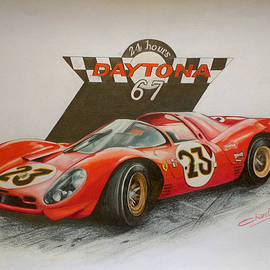 FERRARI 330 P4- Daytona 1967 by Nicky Chiarello