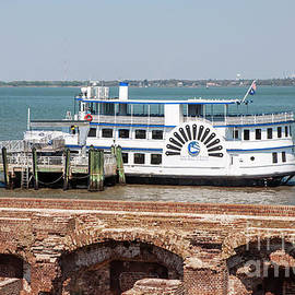 Ferry at Fort Sumter by Ruth H Curtis