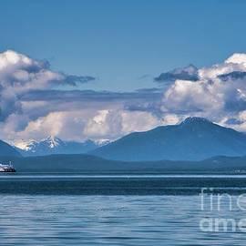 Ferry Crossing by Chuck Burdick