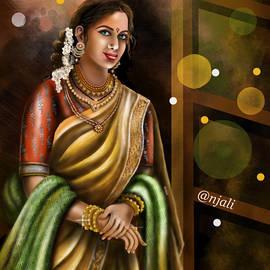 Festive look by Anjali Swami