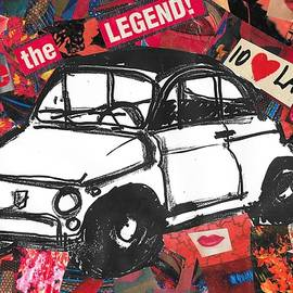 Fiat 500 love the legend by Walter Festuccia