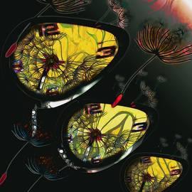 Field Clocks Fly Surreal Dandelions by Joan Stratton