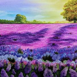 Field of Blooms by Vesna Moore
