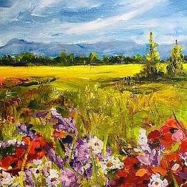 Field of Poppies by Nancy Rabe