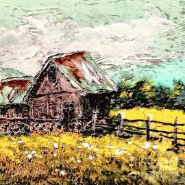 Fields and Barns by Eloise Schneider Mote