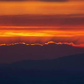 Fiery Arizona Sunset by Teresa Wilson