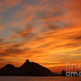 Fiery Sunset by Marci Hammock