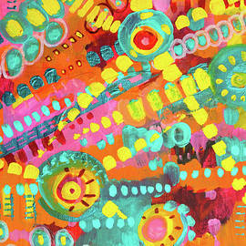 Fiesta Pinata Abstract