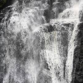 Third Drop Of The Bushkill Waterfalls by John Telfer
