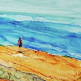 Finding Cape  Fear Painting by Patty Donoghue