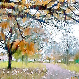 Finsbury Park - Autumn Song by Nigel Hirst