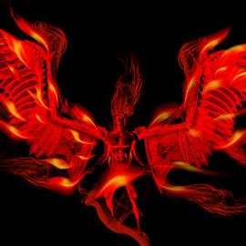 Fire Angel Demon of the Hell Underworld Fantasy 2 by Barroa Artworks