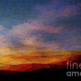 Fire on the mountains by Deb Nakano