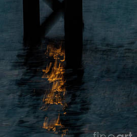 Fire on the Water. by Frank Parisi