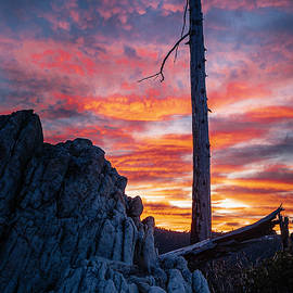 Fire Over the Burn by Micheal Lee