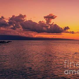 Fire Sky Ka opala Beach by Kelly Wade