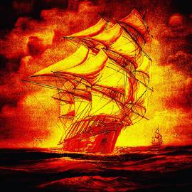 Fire vessel by Reykholt ArtFabrik