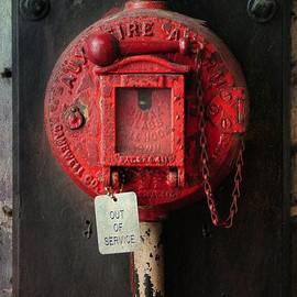 Fireman- Vintage Fire Alarm Box by Paul Ward
