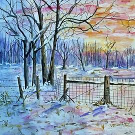 First Snow by Nancy Rabe