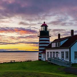 First sunrise in America by Benjamin Roberts