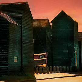 Fishermen's Huts Of Hastings by Chris Lord