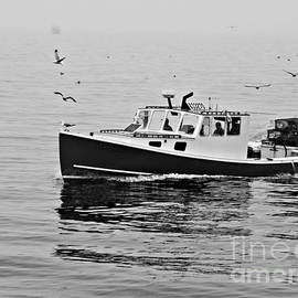 Fishing Boat by Marcia Lee Jones