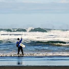 Fishing For Calmer Seas by Lori Pessin Lafargue