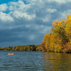 Fishing on the Lake by Stuart Litoff
